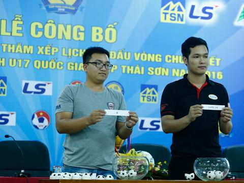 HAGL cùng bảng SLNA ở VCK U17 quốc gia 2016