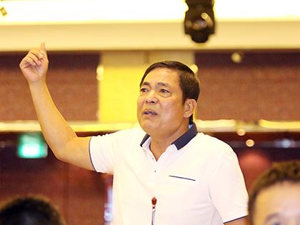 Ông Trần Mạnh Hùng, Chủ tịch CLB Hải Phòng: 'Tiền du học không phải là vấn đề'