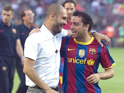 Xavi: 'Với Guardiola, Man City sẽ đổi đời'