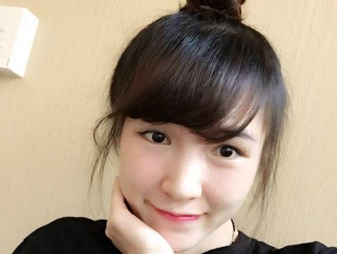 Ngắm vẻ đẹp 'hot girl' Vũ Thị Trang, người 'truyền lửa' của Tiến Minh