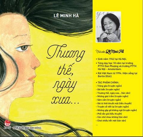 Nhà văn Lê Minh Hà: Đong đầy Hà Nội bằng nỗi nhớ