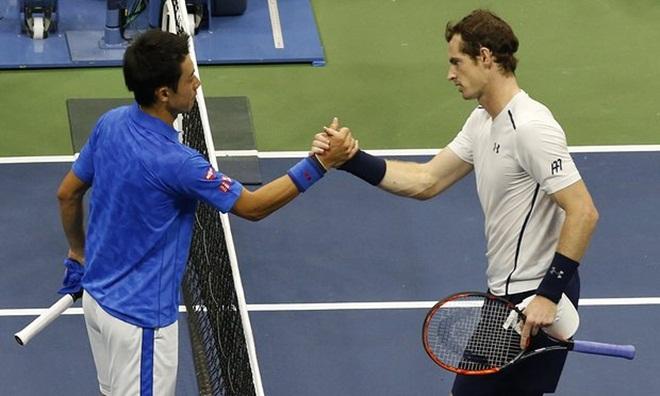US Open 2016: Murray thua sốc trước Nishikori vì tâm lý kém