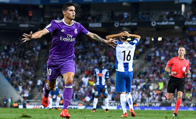 Rodriguez xứng đáng được Zidane trao cơ hội