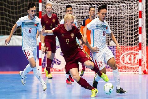 HLV Bruno Garcia : 'Thua Nga nhưng tuyển futsal Việt Nam không thất vọng'