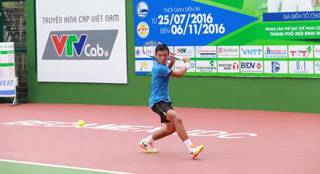 Lý Hoàng Nam đánh bại 'khắc tinh' người Thái Lan tại F7 Futures