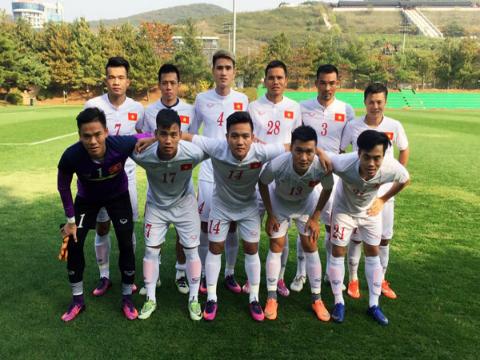 Công Vinh lập cú đúp, tuyển Việt Nam thắng đậm Pocheon FC