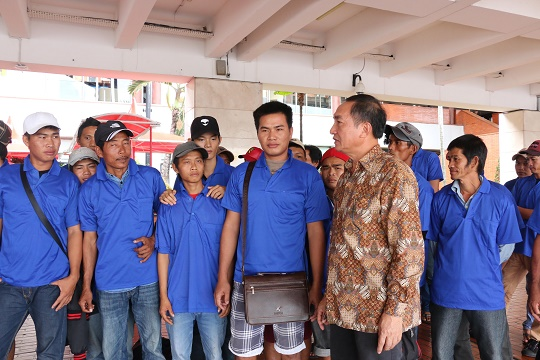 Ngu dan Viet Nam bi Indonesia bat duoc tra ve