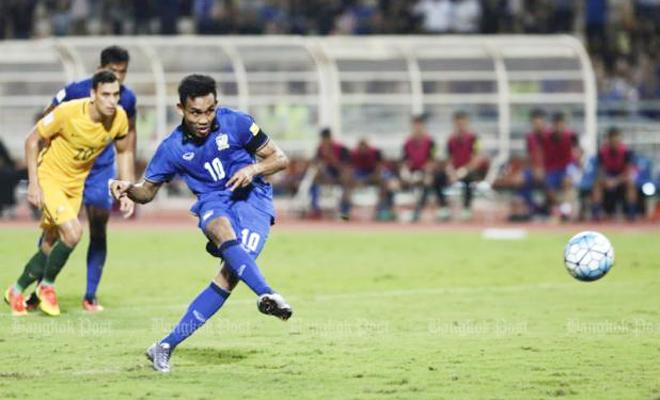 Thái Lan có điểm đầu tiên ở vòng loại World Cup, Lippi ra mắt thất vọng với Trung Quốc