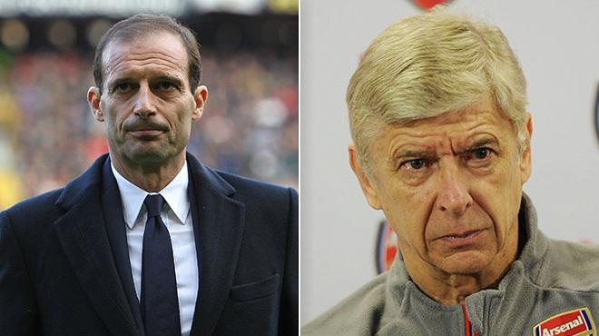 Vì sao Arsenal nên và không nên thay Wenger bằng Allegri?
