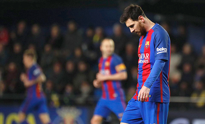 Barcelona đang dừng đèn đỏ quá lâu
