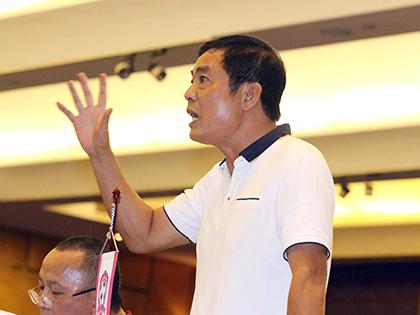 Chủ tịch CLB Hải Phòng Trần Mạnh Hùng: 'BLV ngồi bàn nhựa tường thuật không phải là lỗi chúng tôi'