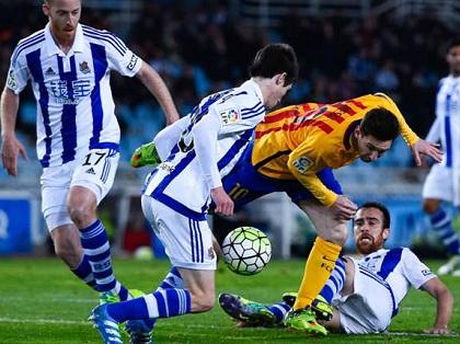Barcelona trở lại phong độ đỉnh cao vốn có