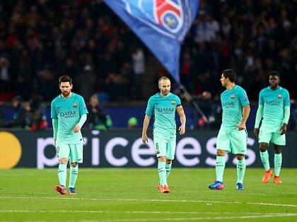 Barcelona thảm bại trước PSG: Thế hệ Vàng của Messi sắp hết thời?