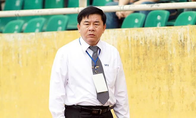 Trưởng ban trọng tài VFF, ông Nguyễn Văn Mùi đã có tiếng nói của mình