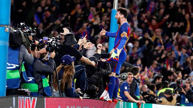 Ngày Messi hạ mình làm vai phụ
