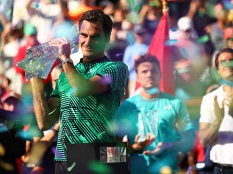 Tennis ngày 23/3: Maradona: 'Ngoài Federer, chẳng tay vợt nào vĩ đại'. Lý Hoàng Nam lập kỷ lục trên BXH ATP