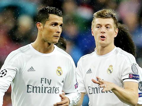 Real Madrid: Sống nhờ Ronaldo, thở nhờ Kroos