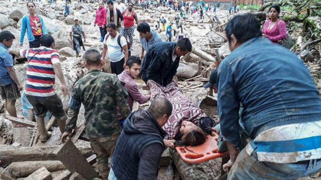 Lở đất kinh hoàng tại Colombia khiến 200 người thiệt mạng