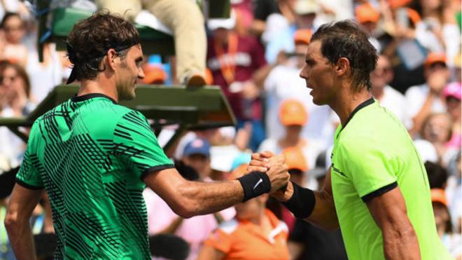 Tennis ngày 3/4: Federer và Nadal dắt tay nhau vào Top 5 ATP. Thầy của Djokovic khen ngợi Kyrgios