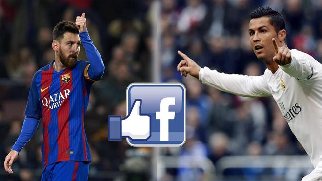 Real Madrid và Barcelona chạy đua 'câu like' trên Facebook gây phản cảm