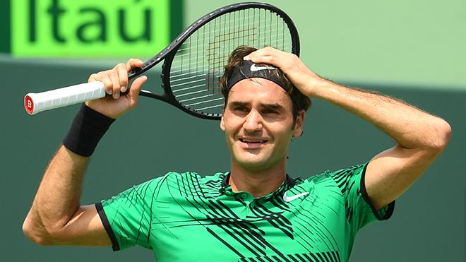 Sau 10 năm, Federer lại chiến thắng ở giải Miami Open