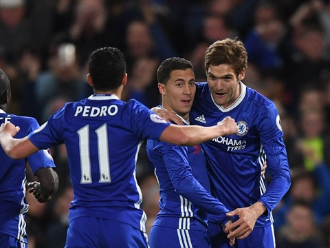 Chelsea 2-1 Man City: The Blues xây chắc ngôi đầu