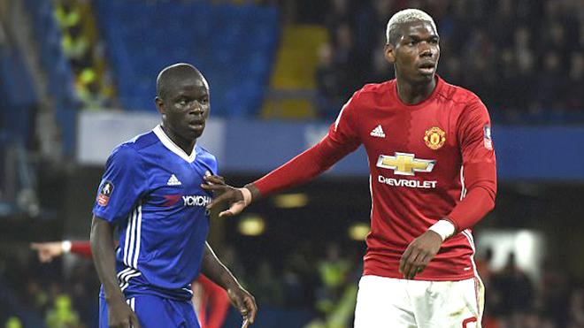 Man United - Chelsea: Đừng so sánh Pogba với Kante. Họ rất khác nhau!