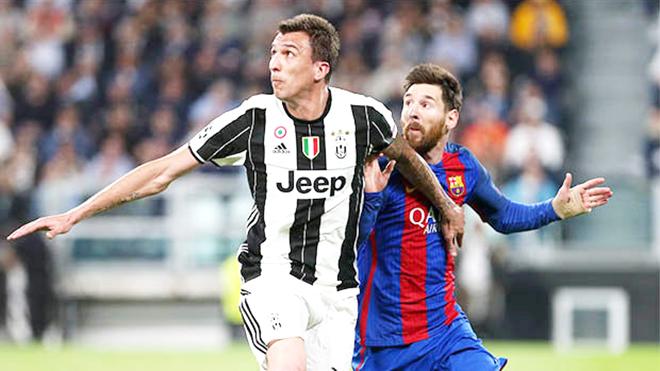 Juventus khó bị đánh bại với cặp tiền đạo... phòng ngự Mandzukic – Cuadrado