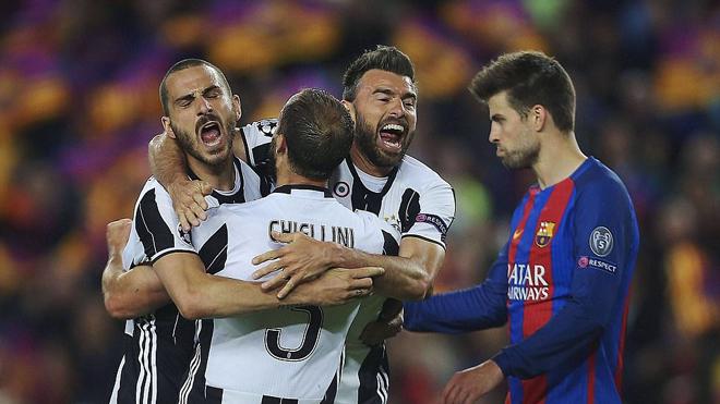 Pique: 'Juve xứng đáng đi tiếp. Họ có thể vô địch năm nay'