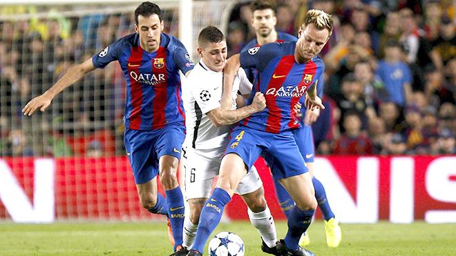 Tương lai của Barca đặt cả vào thương vụ Verratti