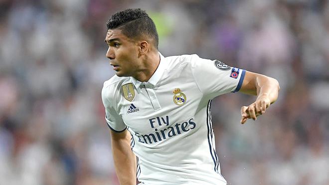 Casemiro là 'Người khổng lồ xanh' của Zidane