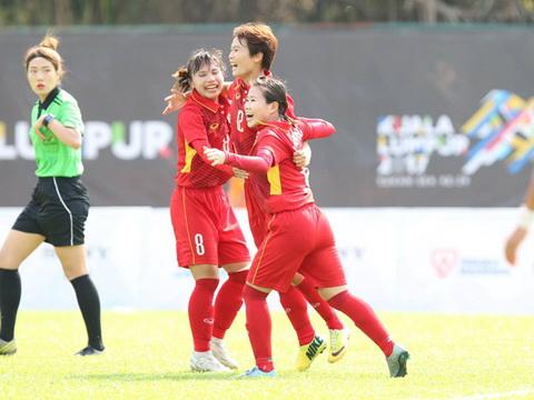 TRỰC TIẾP, Nữ Việt Nam 3-1 Myanmar: Huỳnh Như ghi bàn đẹp mắt (Hiệp 2)