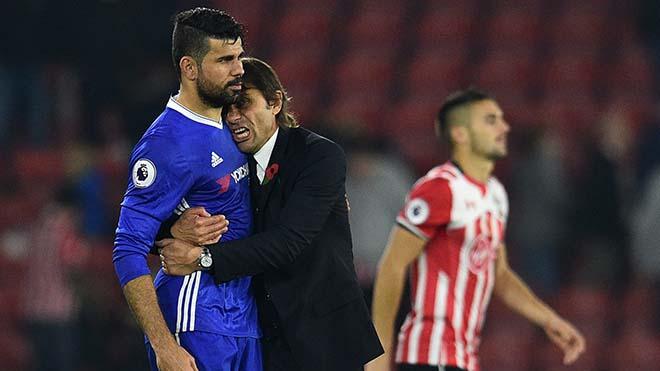 Diego Costa khẳng định không hề oán trách Conte