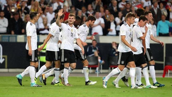 Video clip highlights bàn thắng trận Đức 6-0 Na Uy