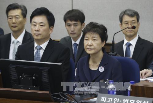 Cựu Tổng thống Hàn Quốc Park Geun-hye bác bỏ mọi cáo buộc