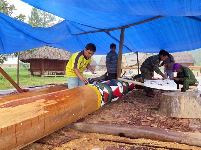 Quảng Nam dựng cây Nêu các dân tộc Việt Nam