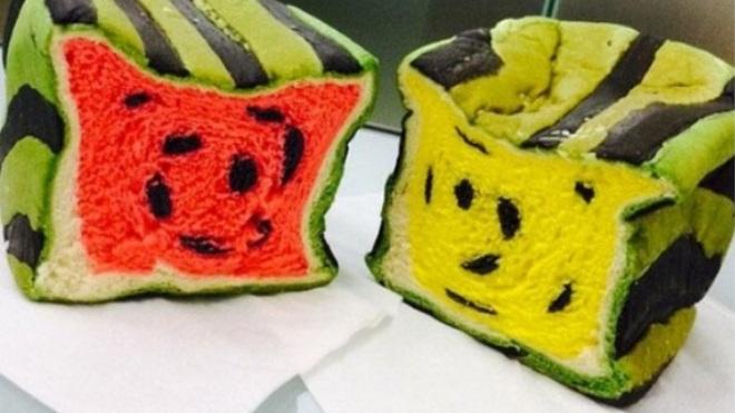 Dân mạng phát cuồng vì bánh Nhật Bản hình dưa hấu vuông