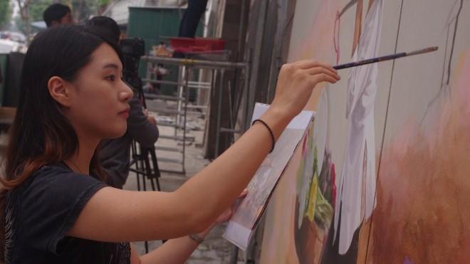 Phố Phùng Hưng sắp có 18 tranh bích họa: Bắt đầu giấc mơ 'phố vòm cầu Hà Nội'