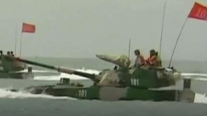 Quân đội Trung Quốc 'khoe' xe lội nước tấn công nhanh nhất thế giới