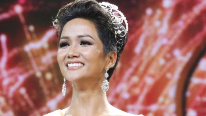 H'Hen Niê, tân Hoa hậu Hoàn vũ VN 2017: 'Viên ngọc' lấp lánh của núi rừng Tây Nguyên