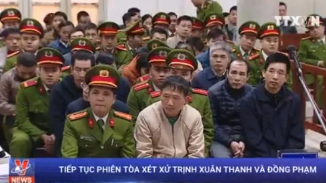 Tiếp tục phiên tòa xét xử Trịnh Xuân Thanh: Luật sư gỡ tội cho các bị cáo