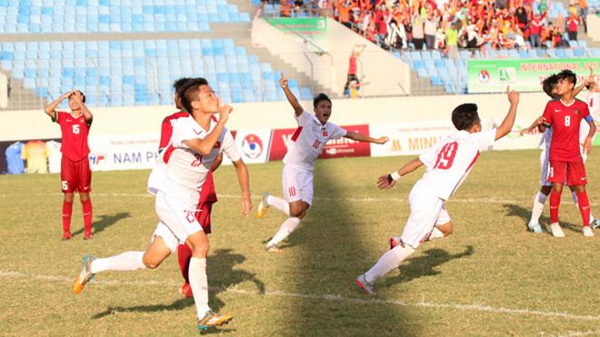 U15 Việt Nam tiếp tục dẫn đầu Giải U15 quốc tế, bóng đá Việt Nam có nút bạc YouTube