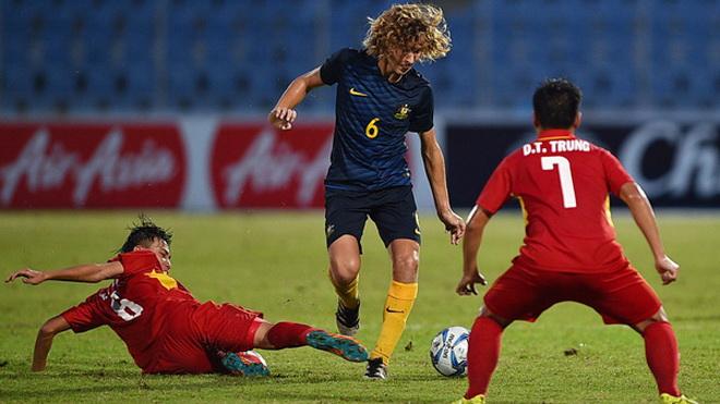 Bóng đá trẻ Việt Nam ngang ngửa với Thái Lan và Australia