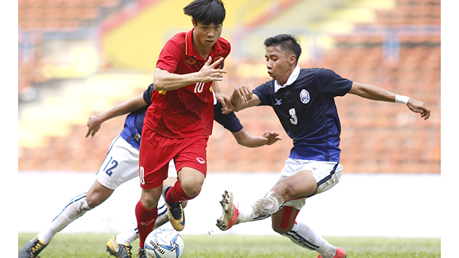HLV Trần Công Minh: 'Đội tuyển thắng thế là vui rồi'