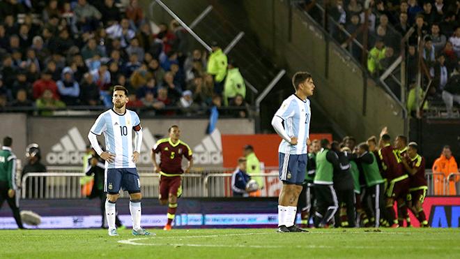 Argentina đơn giản không xứng đáng đi Nga dự World Cup 2018