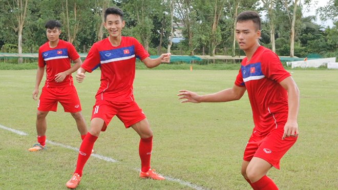 18h30 ngày 13/9, U18 Myanmar - U18 Việt Nam: Giữ chân chờ người Thái