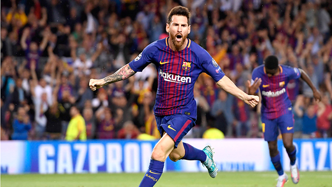 Với Messi, trái bóng luôn mang những hình thù mới