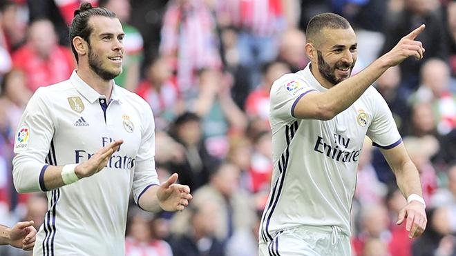 Ronaldo không ra sân, Bale và Benzema thật... tầm thường