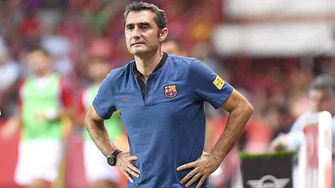 Valverde đang sốt ruột vì Barca