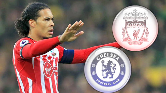 Van Dijk nên đến Chelsea hay Liverpool?